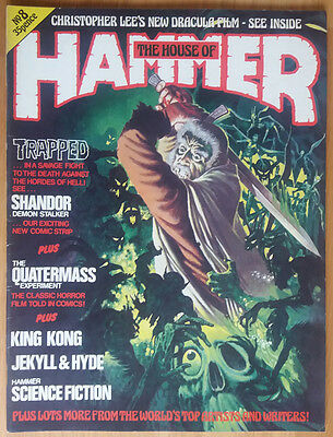 House Of Hammer - Horror Magazine #8 Issue 8 Original Vintage Pressing