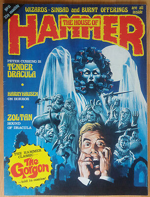 House Of Hammer - Horror Magazine #11 Issue 11 Original Vintage Pressing