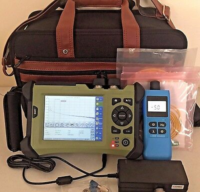 Orientek TR600 Handheld OTDR VFL w/ 1310nm/1550nm Source + Accessories!