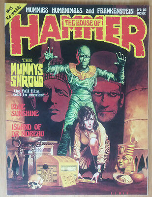 House Of Hammer - Horror Magazine #15 Issue 15 Original Vintage Pressing