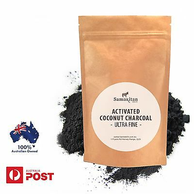 Activated Charcoal Powder  Food Grade 100% Pure Virgin Coconut Shell