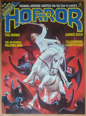 HOUSE OF HORROR (HOUSE OF HAMMER) #20 Issue 20 Vintage Hammer Horror Magazine