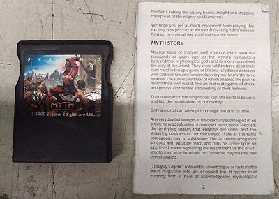 Myth History In The Making C64Gs Rare Cartridge