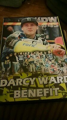Speedway Darcy Ward Benefit Meeting Double Disc Brand New