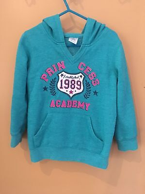 Size 4 Girls Jumper Hoodie Winter