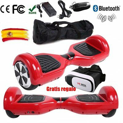 Eléctrico Patinete  E-Scooter Hoverboard Patinaje Self Balancing Bluetooth Bolso