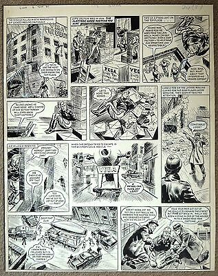 Zip Nolan Original Art From Lion Comic By Fred Holmes