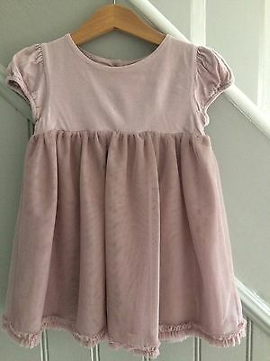 White Company Girl's dress age 12-18 months