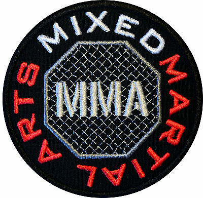 MMA IRON ON PATCH Aufnäher Parche brodé patche toppa Mixed Martial Arts