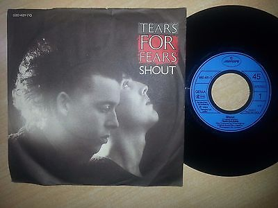 Tears For Fears - Shout / The Big Chair Disco 45 Giri 7'