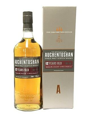 Auchentoshan 12 Years Old Single Malt Scotch Whisky 700Ml Boxed