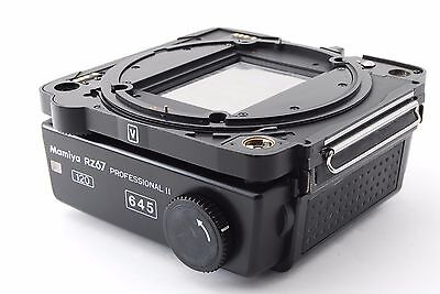 Mamiya RZ67 Pro 645 6x4.5 II Film Back [EXCELLENT+++]