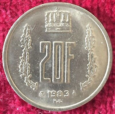 Luxemburg Luxembourg 20 Francs 1983