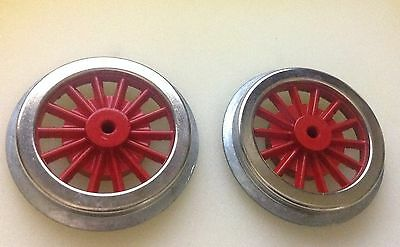 Lionel Mth Standard Gauge Electric Wheels Orig Lionel Tooling 2 Geared / Bossed