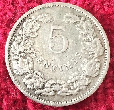 Luxemburg Luxembourg 5 Centimes 1908