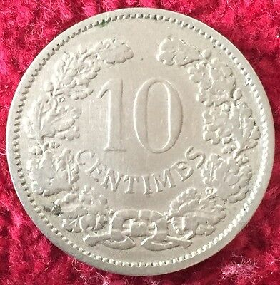 Luxemburg Luxembourg 10 Centimes 1901