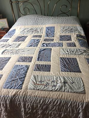 Quilted Bedspread King Size 5 Foot