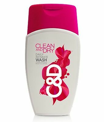 Vaginal Clean and Dry Daily Intimate Wash 100ml Free Shipping