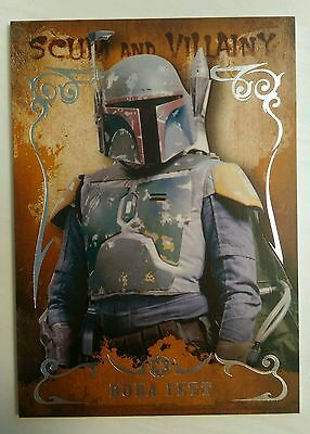 BRAND NEW Boba Fett Star Wars masterwork base card (2014)