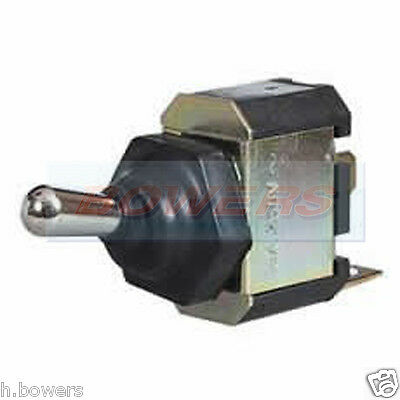 Durite 0-603-50 Metal Dolly Toggle Switch Splash Proof On Off 10 Amp 28 Volt