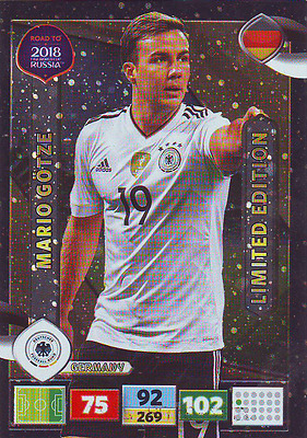 Panini Adrenalyn XL Road to Russia 2018 Limited Götze