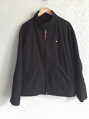 Lacoste Men`s Cassic Black Harington Size 7/58 ( XXL ) real XL