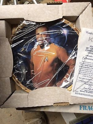 Set Of Star Trek Plates