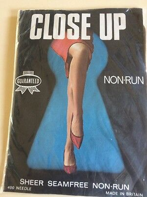 Vintage Sheer Stockings Size Large