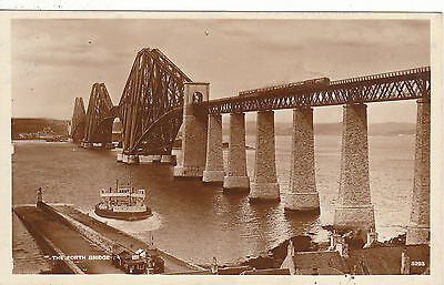 The Forth Bridge & Ferry, SOUTH QUEENSFERRY, West Lothian RP