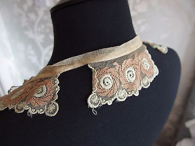 antique 1920s lace collar