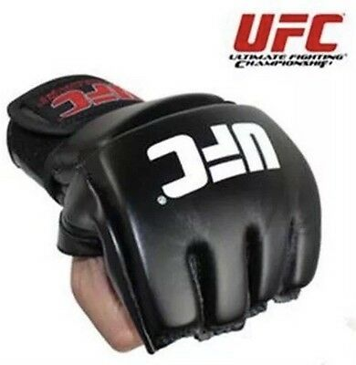 NEW UFC MMA Kick Boxing Sparring Grappling Gloves Wrist Extension Training