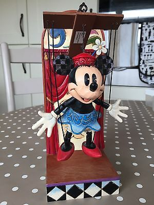 Disney Traditions Jim Shore Minnie Mouse Marionette (stand sold separately)
