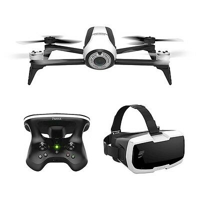 Parrot Bebop 2  Fpv Drone Skycontroller Full Hd Camera Drone