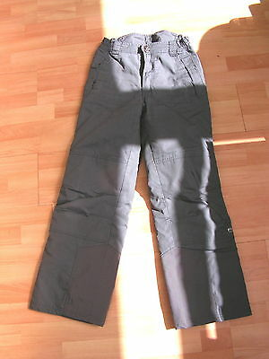 Five Seasons Grey mens insulated Ski trousers - size S