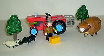 Postman Pat Alf Thompson Tractor, Figure And Accessories