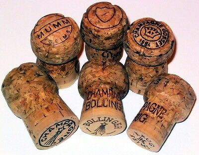 champagne corks lot of 30 used