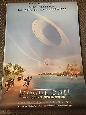 ROGUE ONE A STAR WARS STORY Original 27x40 DS Movie Poster LATIN FREE POSTER