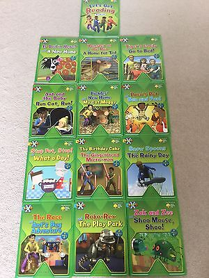 Oxford Reading Tree - Project X - 12 books - VGC Stage 1-4 Age 4-5