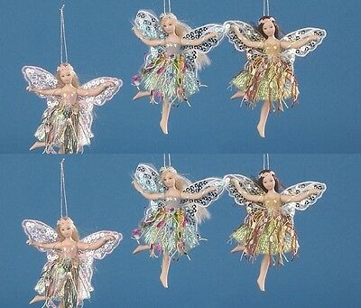 """Job Lot of 18 Vanity Fair 5.5"""" Fairy (3 asstd colours) with doll stand also"""
