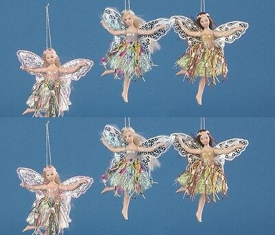 """Job Lot of 36 Vanity Fair 5.5"""" Fairy (3 asstd colours) with doll stand also"""