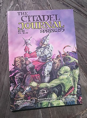 THE CITADEL JOURNAL the FIRST one SPRING 85 MINT UNPUNCHED ideal for collector