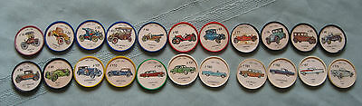 22 Jello Picture/Coin Wheels - 1960's - 1 Price For All!!!