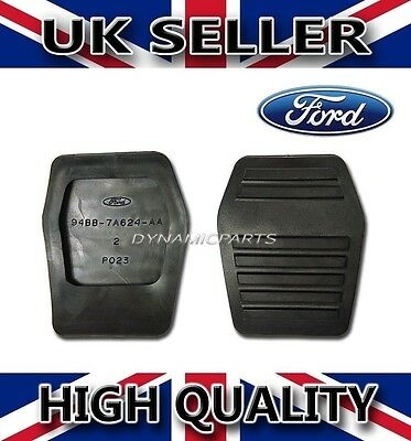 Ford Transit Pedal Pad Rubbers 94Bb7A624Aa 6789917 (Genuine) 2000-Onward (Pair)