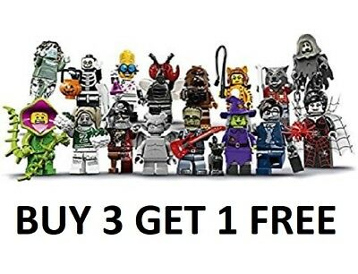 Lego Minifigure Series 14 Monsters Pick Choose Tiger Wolf Zombie Fly Halloween