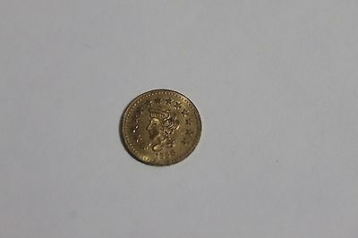 1858 California Gold Coin Souvenir Token