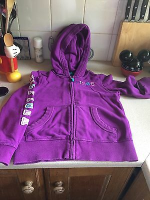 Girls Tommy Hilfiger Hooded Cardigan Age 6/7