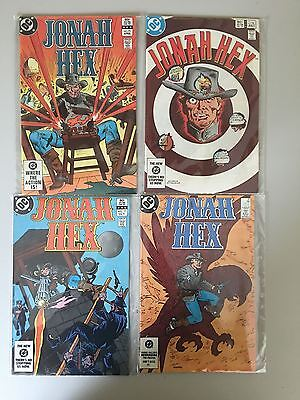 Lot of 4 Jonah Hex (1977 1st Series) #71 74 77 81 VF Very Fine DC Comics