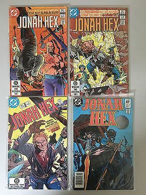 Lot of 4 Jonah Hex (1977 1st Series) #62 66 69 77 FN-VF Very Fine DC Comics