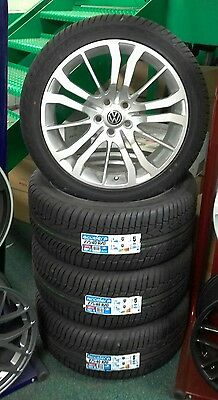 """4x BRAND NEW!! 20"""" alloy wheels and tyres vw t5 transporter"""