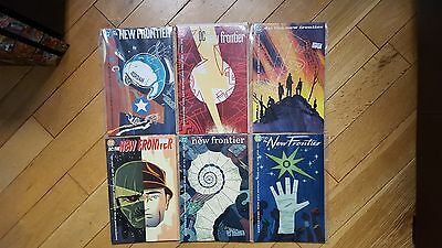 DC The New Frontier # 1 - 2 - 3 - 4 - 5 - 6 complete set Darwyn Cooke